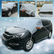Vehemo Front Window Snow Cover Car SunShade Auto Sun Visor Block Cover Protector Durable SUV Auto Parts Windshield Sunshade