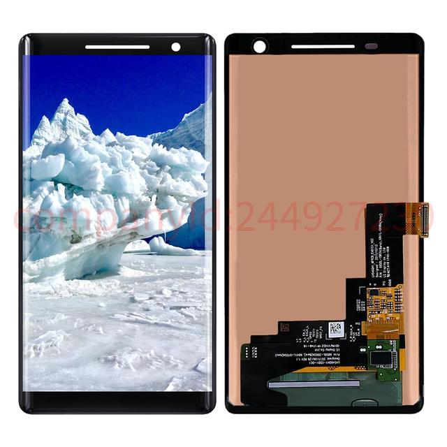 5.5'' 2560x1440 For Nokia 8 Sirocco TA-1042 Screen LCD Display Digitizer Touch Screens Repair Parts