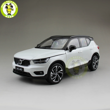 1/18 NEW Volvo XC40 SUV Diecast Metal Car SUV Model Gift Hobby Collection White Color