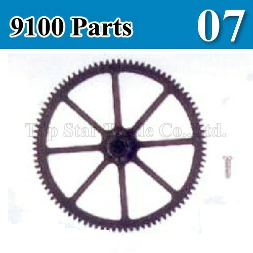 Remote control helicopter parts for rc helicopter DH 9100 spare parts/ main gear cog for 9100/9100-07  in stock