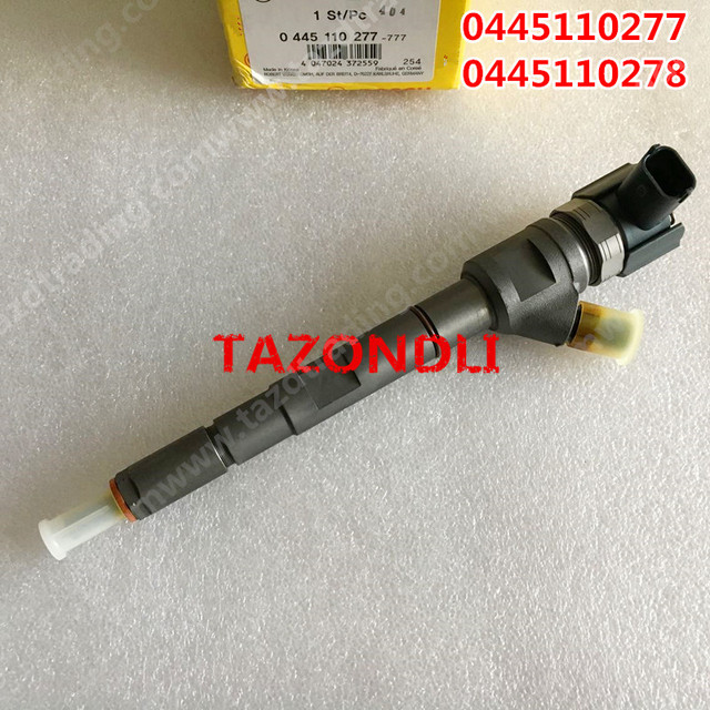 Genuine and New Common rail injector 0445110277/0 445 110 277/0445110278 for 33800-4A600