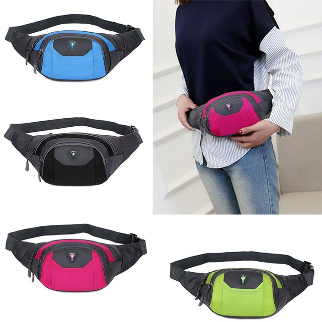 SFG HOUSE Fashion Women Travel Bum Bag Fanny Waist Pack Phone Purse Shoulder Bag Canvas Purse Bolsa walking Waist Waist Bag Hot