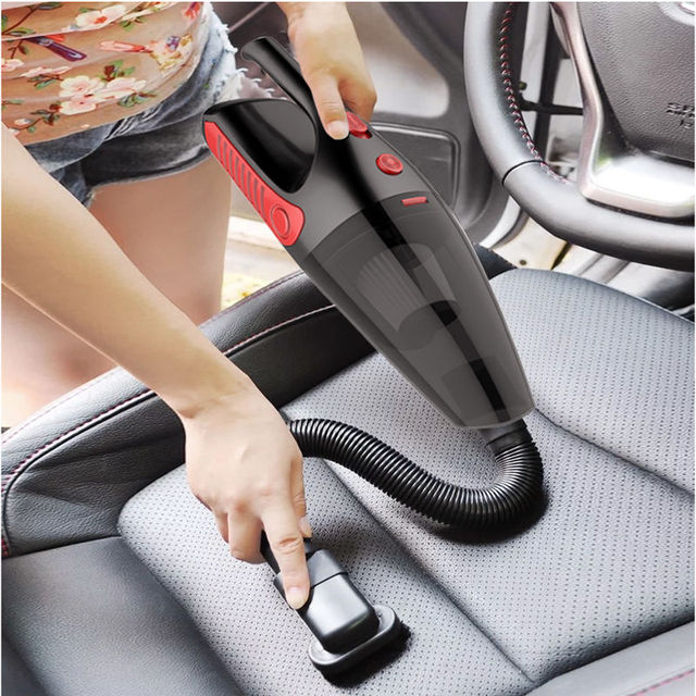 2019 Car Vacuum Cleaner 120W Portable Handheld 12V Wet and Dry Dual Use Strong Cyclone Auto Aspirateur Mini Vacuum Cleaner