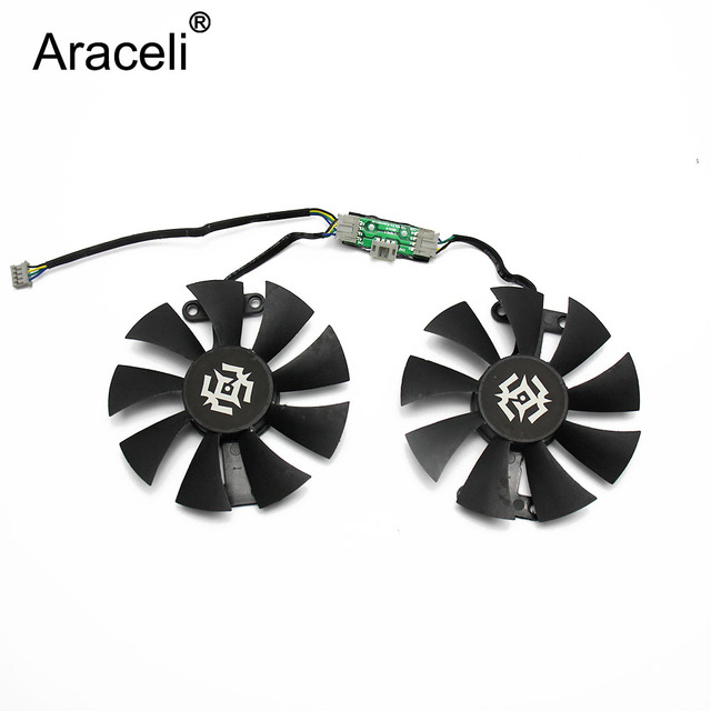 86mm GA91S2H 12V 0.35A 4Pin GTX1060 VGA Fan For ZOTAC GTX 1060-6GD5 X-Gaming Graphics Card Cooler Cooling Fan