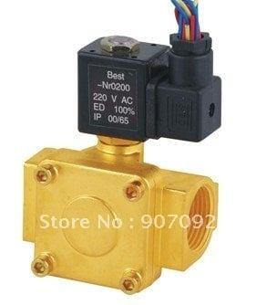Free Shipping 3/8'' Port Size 0927100 Normally Closed 2/2 Way Diaphragms Solenoid Valves 5pcs In Lot