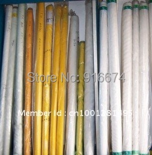 "free shipping! 25meters 48T 120M polyester silk screen printing mesh 48T(120#)*127CM(50"" width )"