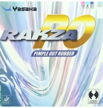 Yasaka  Rakza PO Pimple Out Table Tennis Rubber Black/Red Max - quick attack