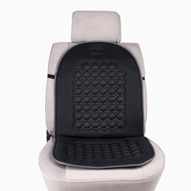 Magnetic Car Bubble Seat Cushion Massage Therapy Home Office Black Pad Universal