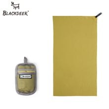 BLACKDEER Outdoor Quick Dry Towel Ultralight Camping Compact Swimming Towels  Hand Face Microfiber Antibacterial Hiking Travel