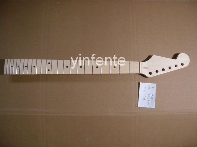 New High Quality Unfinished electric guitar neck Maple wood Body &  fingerboard    model 1pcs #3