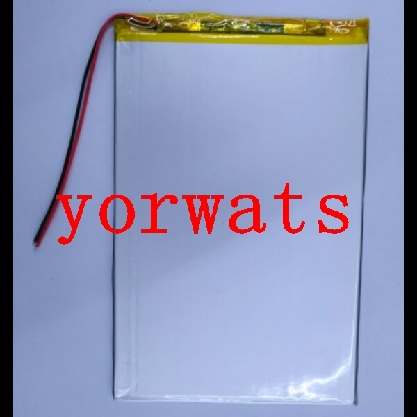 New Hot A Rechargeable Li-ion Cell  3.7V polymer lithium battery 27100153 30100150 5500mah Tablet PC dedicated