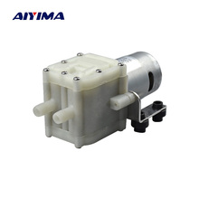 AIYIMA DC 12V 24V 10W Mini Diaphragm Water Pump Self Priming 1L/Min Low Noise Waterproof Submersible Pump For Coffee machine