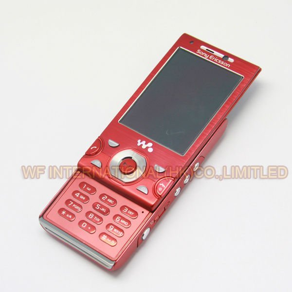 Original Unlocked Sony Ericsson W995 Mobile Cell Phone Red 8MP 3G WIFI Bluetooth Phone & one year warranty