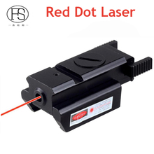 Hot Sale Tactical Pistol Red Dot Laser Sight Fit For 20mm Rail Hunting Shooting Red Dot Laser For Rifle Glock Laser Sight