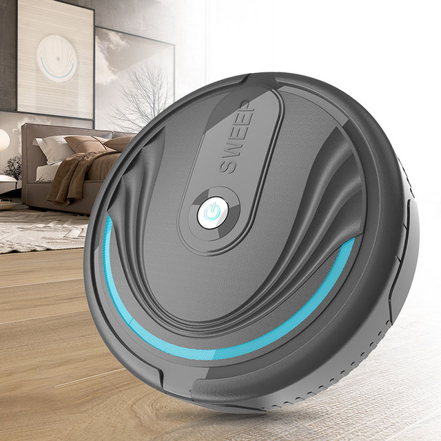 Mini Robot Vacuum Cleaner Ultra-thin  Vacuum Cleaner Automatic Household Robot Cleaner Dust Pet Hair Mop
