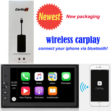 wireless CarPlay Smart Link Mini USB Apple CarPlay Dongle for Android Navigation Player system Stick with Android Auto