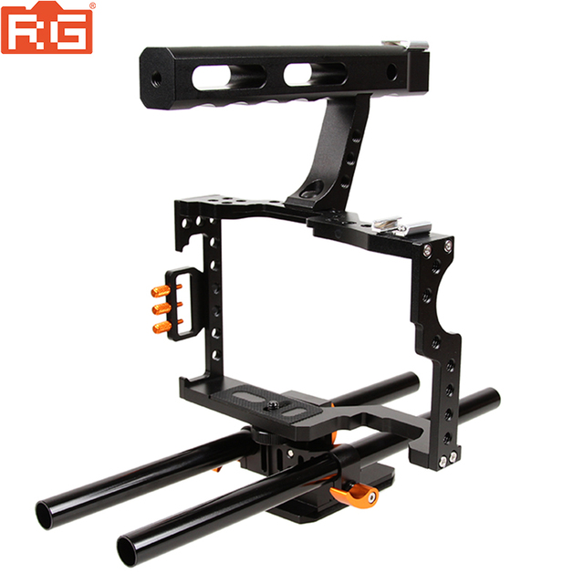 Micro single photographic camera rabbit cage stabilizer  For Sony A7 A7S A7R2 GH4 rabbit cage fuselage protection kit