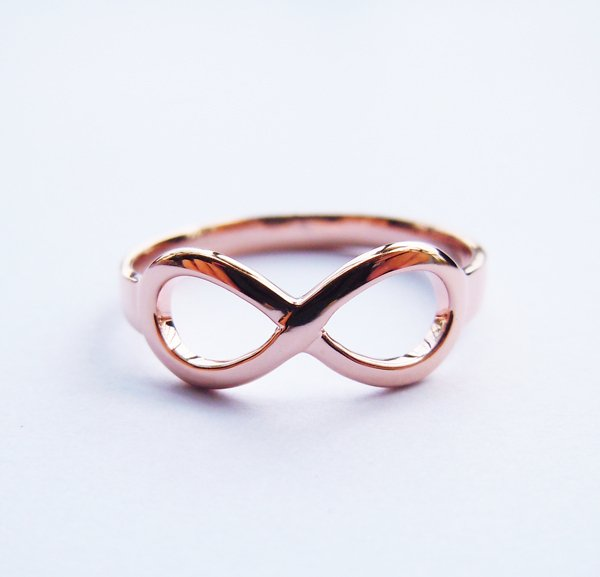 Wellmade Genuine 925 Sterling Silver Infinity Ring