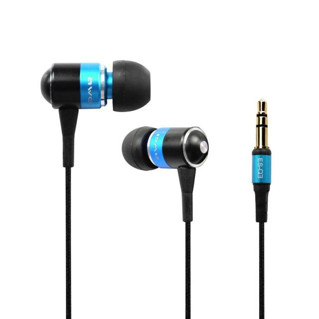 Awei Q3 Headset Super Bass Wooden wired  In-Ear Earphone For Phone/PC/MP3 Dropshipping Apr 9