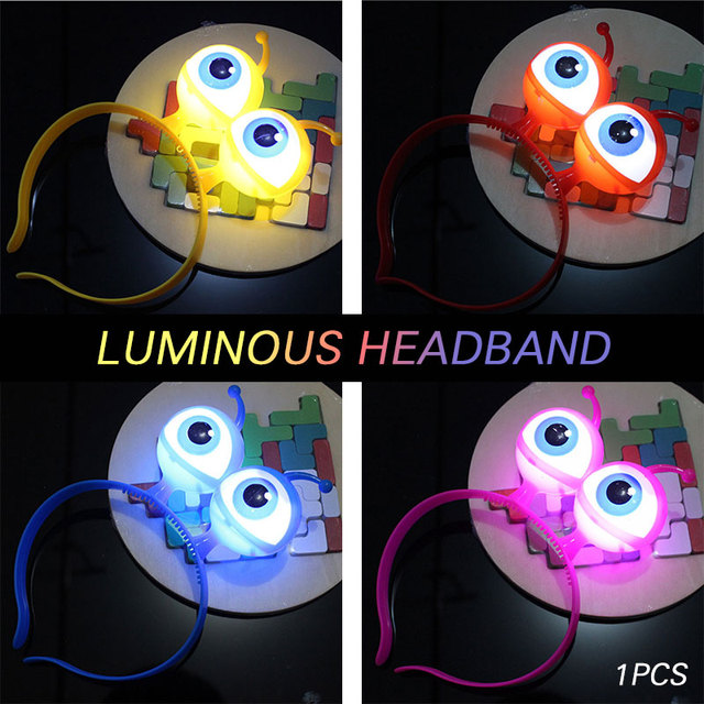 Eye Headband Hair Band Head Hoop Lovely Beautiful Halloween Luminous