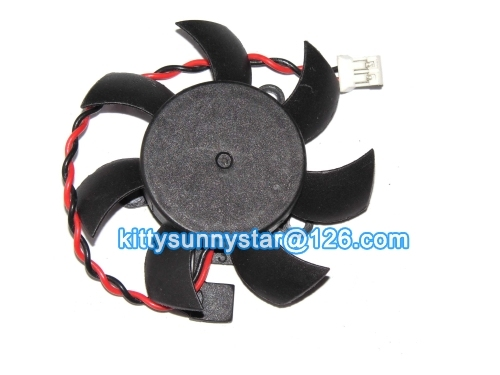 MulFan A4010L12S A5010L12S A6010C12C 12V 0.3A 2Wire For Sapphire HD4350 HD4550 Video Fan