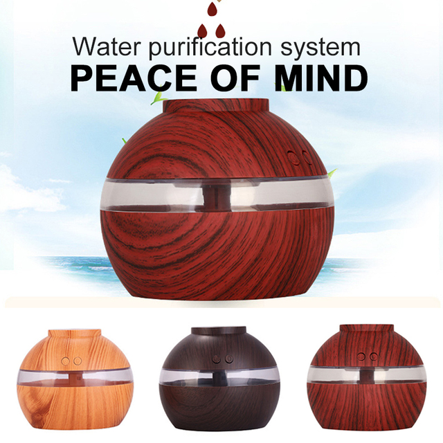 2019 Drop Shpping 300ml Air Humidifier Ultrasonic Nebulizer Useful Convenient Moisture Oil Aromatherapy for Yoga