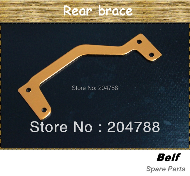 Free shipping,  Baja metal parts  rear brace , wholesale and retail