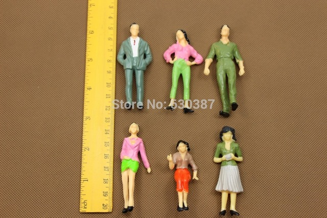 P25 Model Trains 1:25 Scale Painted Figures LGB G