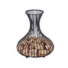 Wine Corks Storage Basket Nordic Style Wine Bottle Stopper Container Creative Crafts Decor For Home Office Bar