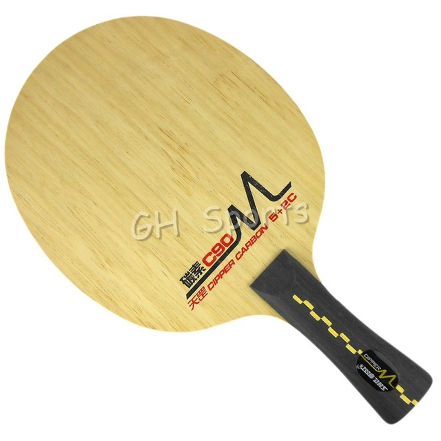 DHS DM.C90  Attack  Ply 5+2C  Table Tennis Blade Shakehand-FL for PingPong Racket