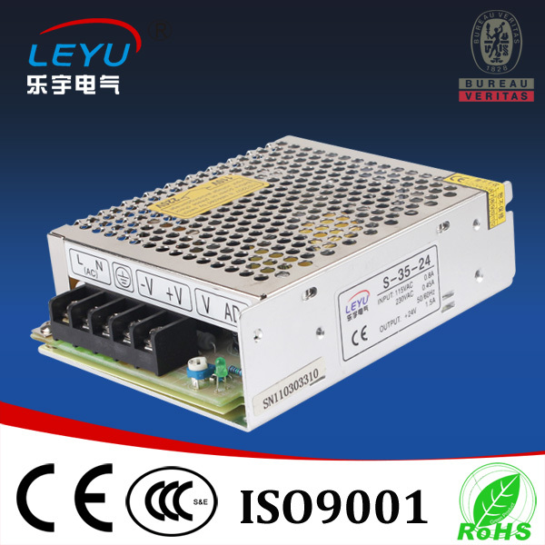 35W 5V 12V  24V  Power Supply  With CE RoHS Certificated