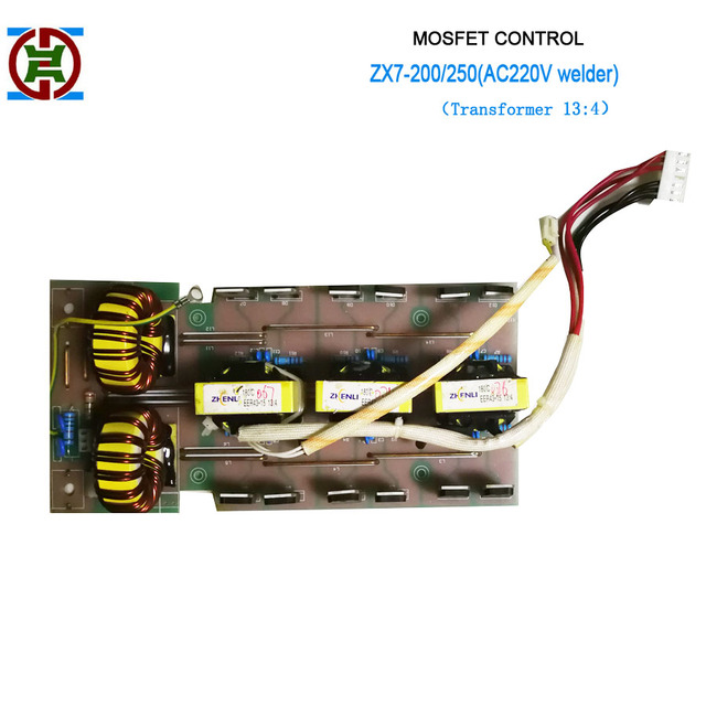 Field-effect tube ZX7-200(220V) middle rectifier PCB for MOSFET-controlled  inverter welder