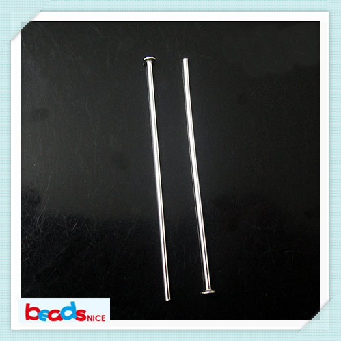 Beadsnice ID3828  silver head pins jewelry fittings jewelry accessories wholesale 925 silver headpins