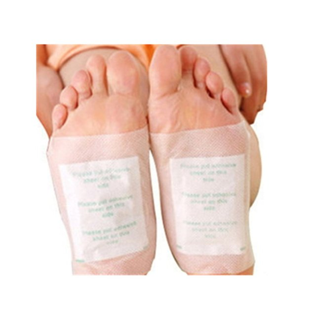 (20pcs/2boxeslot)Top quality healthcare foot pad cleansing detox gold foot patch