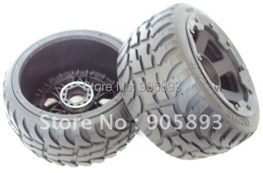 New Onroad Wheel & Tyres - Rear - 2nd Generation for Baja