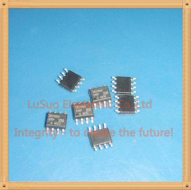 50PCS IR2106S  IR2106SPBF  IR2106STRPBF  SOP8 HIGH AND LOW SIDE DRIVER