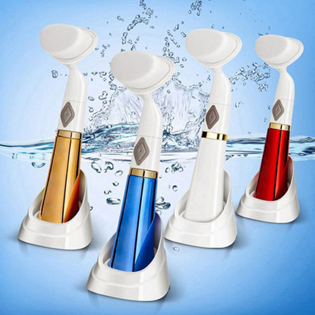 Electric Wash Face Brush Facial Cleanser Ultrasonic Facial Massager Instrument