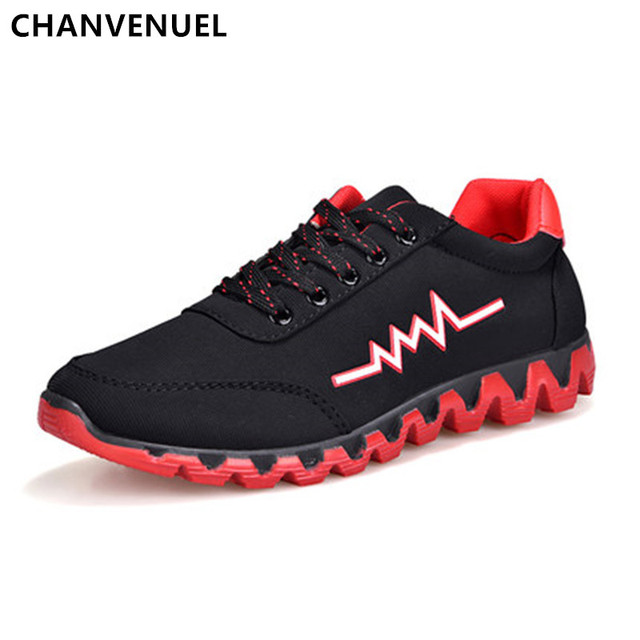 2017 Spring Autumn New Men's Casual Shoes Fashion Breathable Men Shoes Lace Up Flats Comfortable Cloth Shoes