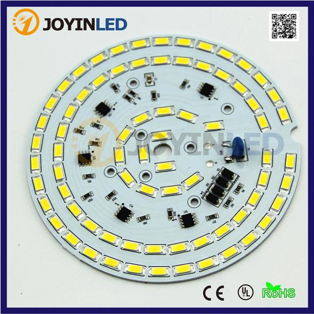 5PCS LED bulb lamp AC Module Chips Dimmable high bay light 30W AC110V integrated Driver 5730 led PCB