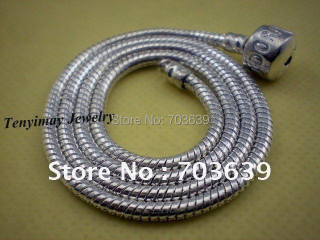 """Fashion 18"""" European Alloy Snake Chain Necklace Fit DIY 10pcs/Lot Free Shipping"""