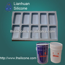 Gypsum cement technology of silicone mold