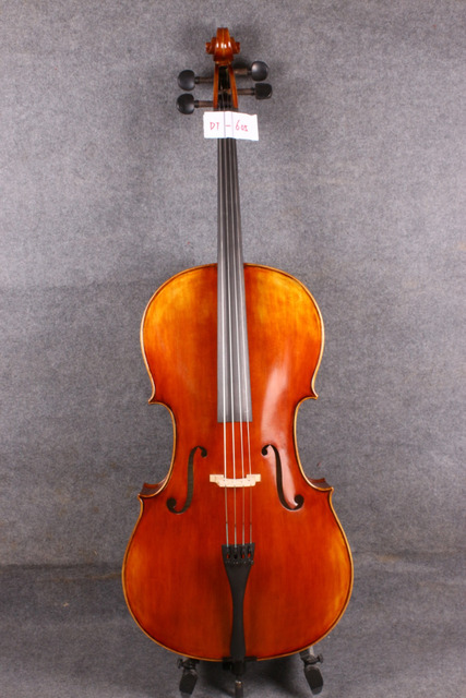 4/4 (Full) Size  Cello Acoustic Cello   hand made flamed maple back spruce top  605 #