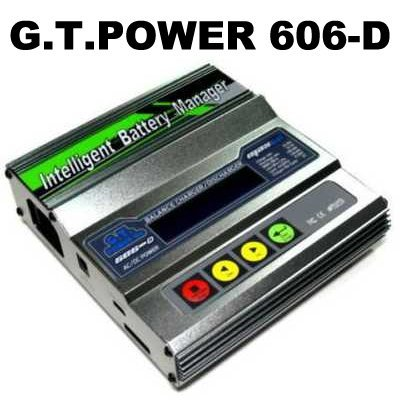 free shipping! G.T.POWER 606-D LiPo Li-Polymer Digital Charger for rc battery