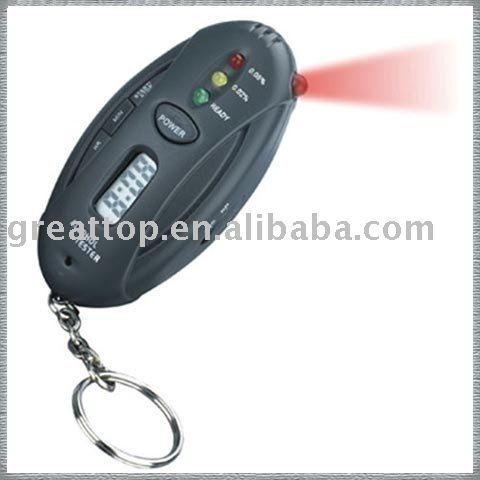 Professional Alcohol tester with three LEDs display tester results Analyzer