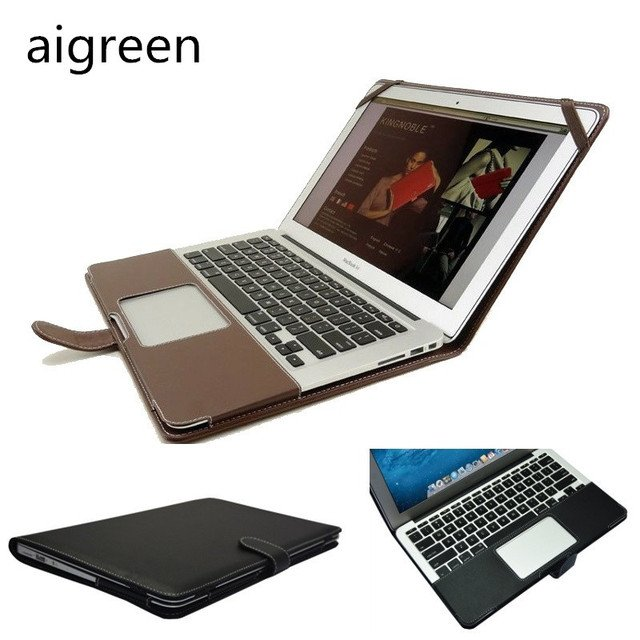 """2020 Newest Leather Sleeve Case For Macbook Pro 13, Pro 15, Bag Fo Laptop 13.3"""", 15.4 inch, Drop Free Shipping"""