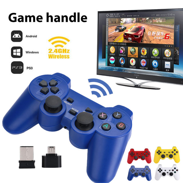 Cewaal Wireless 2.4GHz for PC Wireless Game Controller Game Players Wireless Gamepad High Performance Game Palying Joy-Con