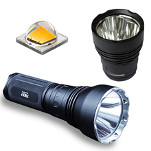 ThruNite TN31 XM-L2 LED Flashlight 1376 Lumens+ TN30 XM-L2 Head 3600 Lumens Hiking Torch