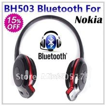 OEM BH-503 BH503 Bluetooth Stereo Headset Bluetooth Wireless Headphone for Nokia iPhone Cell Phone