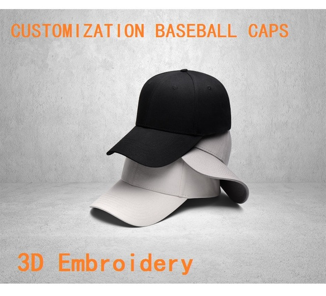 New Excellent Quality Adult 5 Panels 6 Panels Customized Baseball Caps LOGO Embroidery Snapback Cap Customized Hats Wholesale