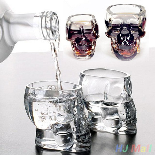1pc Bones Armor Warrior Skull Designed Wine Glass Cup Mug Gothic Barware Drinkware Home Kitchen Accessories Drinkware Supply